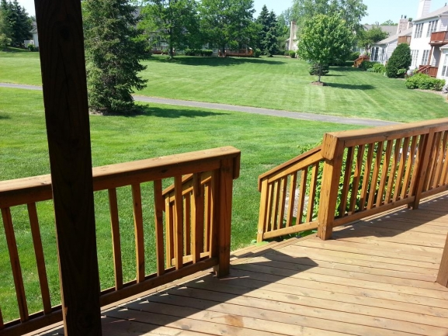 Country Club Village Northville Condo Deck